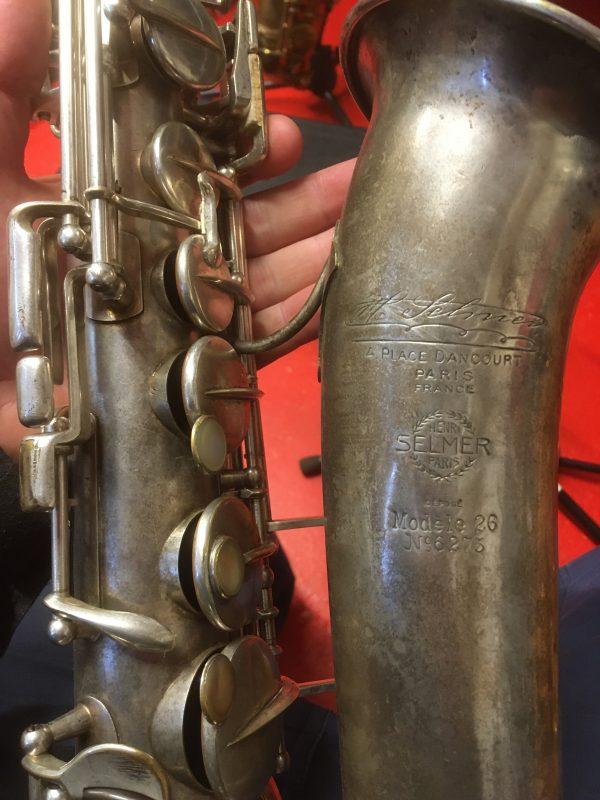 Selmer Modèle 26 altsaxofon -19.500.-